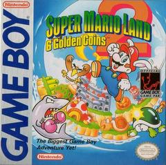 Front Cover | Super Mario Land 2 GameBoy