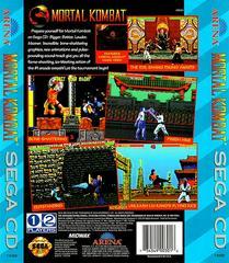 Mortal Kombat - Back   Mortal Kombat Sega CD