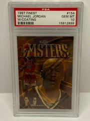 Michael Jordan [w/ Coating] Basketball Cards 1997 Finest Prices