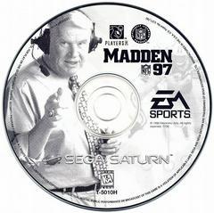 Game Disc | Madden 97 Sega Saturn
