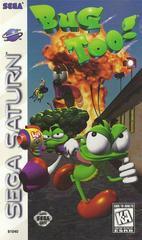 Bug Too! - Front / Manual | Bug Too Sega Saturn