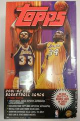 Hobby Box Basketball Cards 2001 Topps Prices