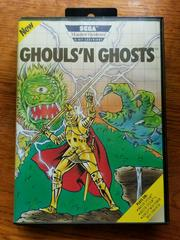 Front Cover | Ghouls N Ghosts Sega Master System