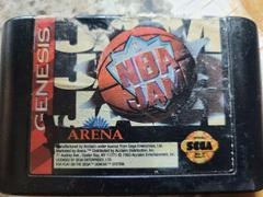 Cartridge - Front | NBA Jam Sega Genesis