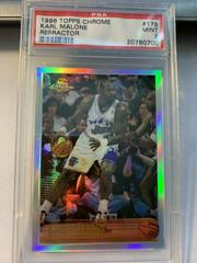 Karl Malone [Refractor] Basketball Cards 1996 Topps Chrome Prices