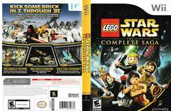 Artwork - Back, Front | LEGO Star Wars Complete Saga Wii
