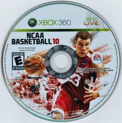 Game Disc | NCAA Basketball 10 Xbox 360