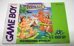 Adventure Island - Manual | Adventure Island GameBoy