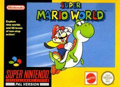 Super Mario World [Yellow Box] PAL Super Nintendo Prices