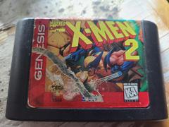 Cartridge (Front) | X-Men 2 The Clone Wars Sega Genesis