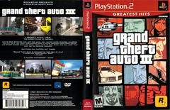 Slip Cover Scan By Canadian Brick Cafe | Grand Theft Auto III Playstation 2