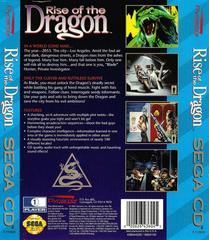 Rise Of The Dragon - Newer - Back | Rise of the Dragon Sega CD