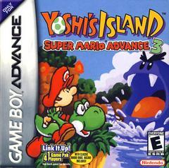 Front Cover | Super Mario Advance 3 Yoshi's Island GameBoy Advance