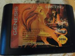 Cartridge (Front) | The Lion King Sega Genesis