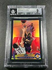Shaquille O'Neal [Black Refractor] Basketball Cards 2003 Topps Chrome Prices