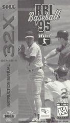 RBI Baseball 95 - Manual | RBI Baseball 95 Sega 32X