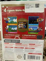 Back Of Case | Super Mario All-Stars Limited Edition Wii
