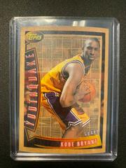 Kobe Bryant Basketball Cards 1996 Topps Youthquake Prices