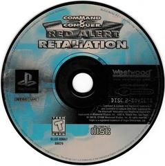Game Disc 2 - Soviets   Command and Conquer Red Alert Retaliation Playstation