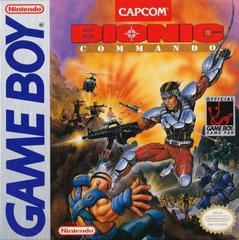 Bionic Commando - Front | Bionic Commando GameBoy