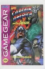 Captain America And The Avengers - Manual | Captain America and the Avengers Sega Game Gear