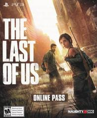 Online Pass   The Last of Us Playstation 3
