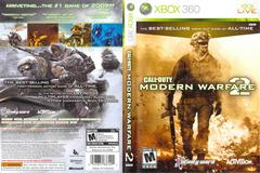 Slip Cover Scan By Canadian Brick Cafe | Call of Duty Modern Warfare 2 Xbox 360