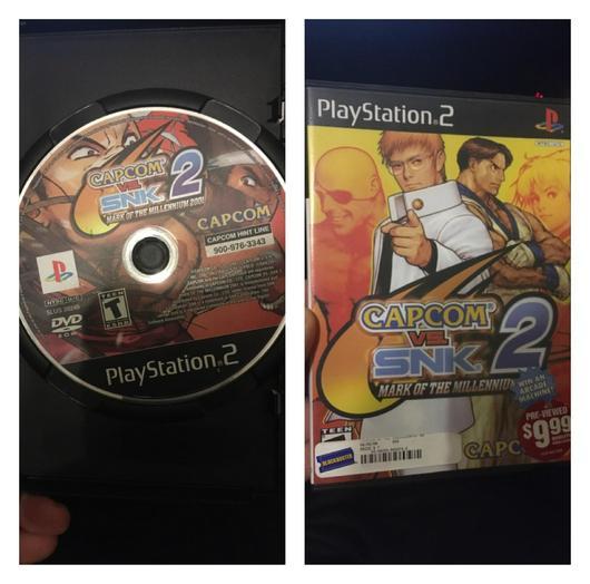Capcom vs SNK 2 photo
