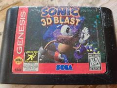 Cartridge (Front) | Sonic 3D Blast Sega Genesis