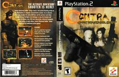 Artwork - Back, Front | Contra Shattered Soldier Playstation 2