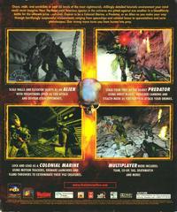 Back Cover   Aliens vs. Predator PC Games