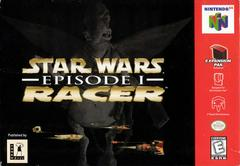 Front Cover | Star Wars Episode I Racer Nintendo 64