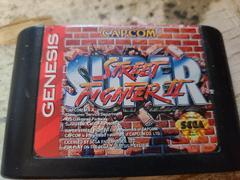 Cartridge (Front) | Super Street Fighter II Sega Genesis