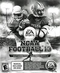 Manual - Front | NCAA Football 13 Playstation 3