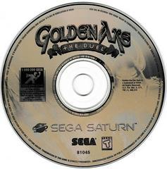 Game Disc | Golden Axe The Duel Sega Saturn