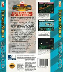 Back Of Case | AH-3 Thunderstrike Sega CD