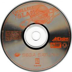 Game Disc | College Slam Sega Saturn