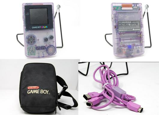 Game Boy Color Atomic Purple photo