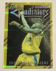 Shaquille O'Neal [Refractor] Basketball Cards 1996 Finest Prices