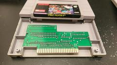 Cartridge Label And Board Front | Street Fighter II Super Nintendo