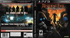 Artwork - Back, Front | Resident Evil: Operation Raccoon City Playstation 3