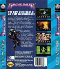 Microcosm - Back   Microcosm Sega CD