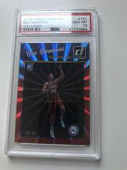 Ben Simmons [Red Laser] Basketball Cards 2016 Panini Donruss Prices