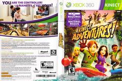 Slip Cover Scan By Canadian Brick Cafe   Kinect Adventures Xbox 360
