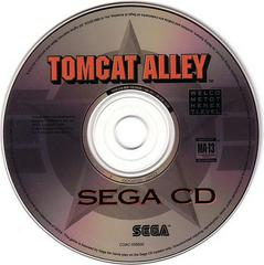 Tomcat Alley - Disc | Tomcat Alley Sega CD