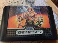 Cartridge (Front) | Golden Axe Sega Genesis