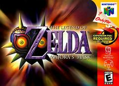 Zelda Majora's Mask Nintendo 64 Prices