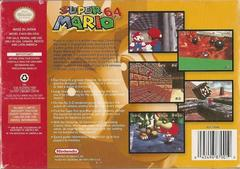 Back Cover | Super Mario 64 Nintendo 64
