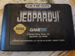 Cartridge (Front) | Jeopardy Sega Genesis