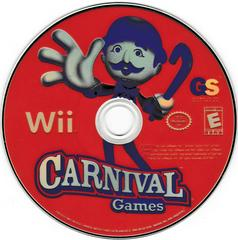 Game Disc   Carnival Games Wii